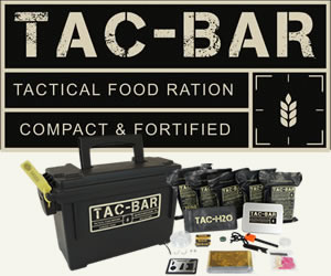 Tac-Bar Tactical Food Rations