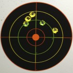 Winchester .22LR w/Iron Sights @ 25yds