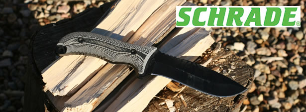 Schrade SCHF10 Extreme Survival Knife