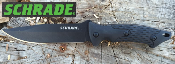 Schrade SCHF30 Fixed Blade Knife