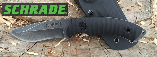 Schrade SCHF35 Fixed Blade Knife