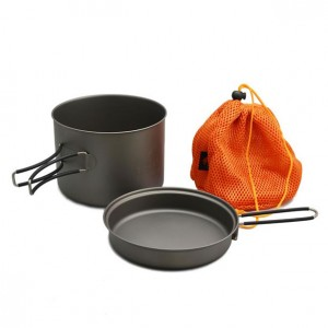 TOAKS Titanium Pot with Pan