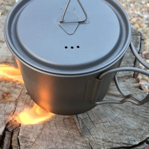 TOAKS Ultralight Titanium Cooking System
