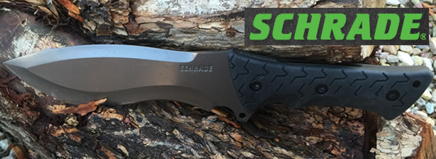 Schrade SCHF28 Little Ricky Fixed Blade Knife