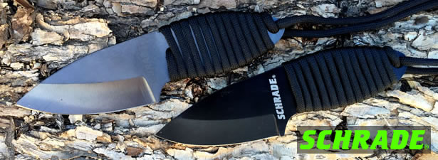 Schrade SCH406 and SCH406N Neck Knives