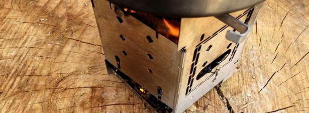 G2 5-inch Folding Firebox Stove