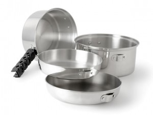 GSI Outdoors Glacier Stainless Cookset MD