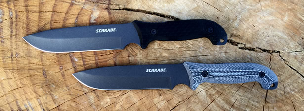 Schrade SCHF52 and SCHF52M