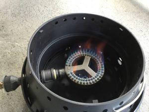 30,000 BTU with propane