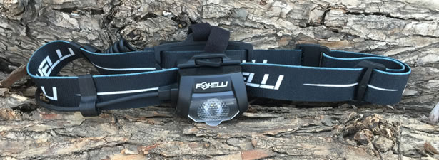 Foxelli MX500L USB Rechargeable Headlamp